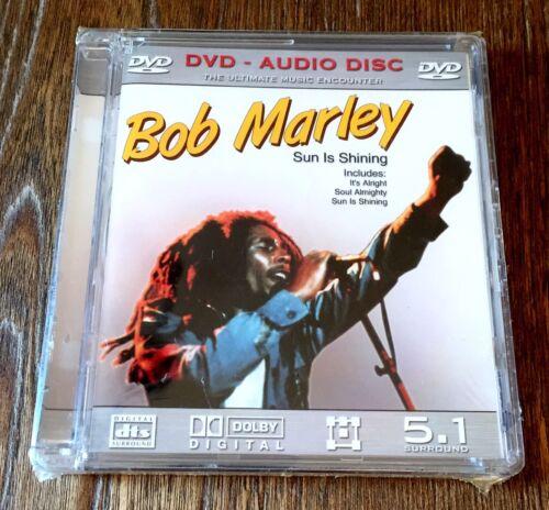 как выглядит Музыкальная запись Bob Marley Sun Is Shining 5.1 Surround Sound DVD Audio Sealed! фото
