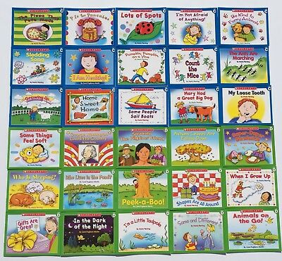 LOT 30 Learn To Read Easy Reader Books Kindergarten First Grade Levels C D SET