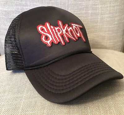 SLIPKNOT Logo Trucker Style Hat Cap Music Band NEW Guitar Instrument Adjustable