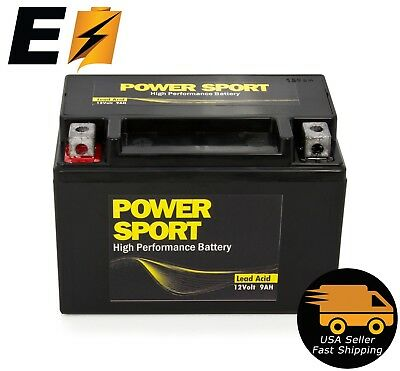YTX9-BS Battery For Honda TRX 400EX Sportrax Fourtrax GSXR600 LTZ250 ZX600