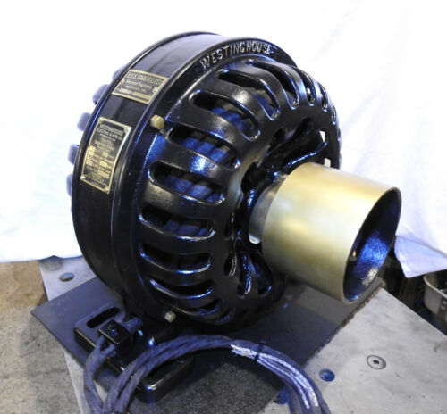 Antique Westinghouse Electric Motor 3hp 3ph 1899 Early Tesla Era Swam Hanover PA
