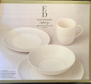New 16 piece Royal Doulton dish set