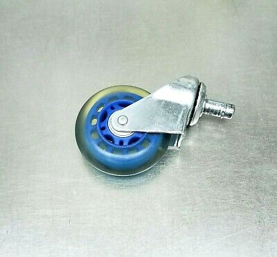 3 Grip Friction Ring Stem Mount Swivel Wheel Caster- Ge Dinamap Rolling Stand