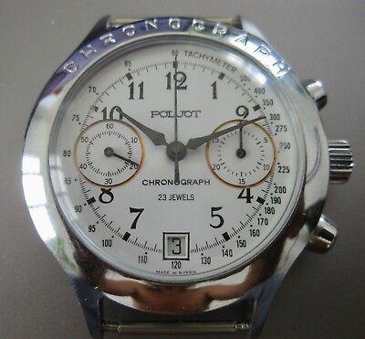 Vintage Russian Soviet watch USSR   Chronograph 3133