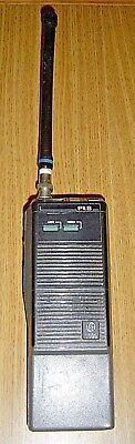 Vintage Ge General Electric Pls Walkie-talkie Handheld Two-way Radio Plsh05