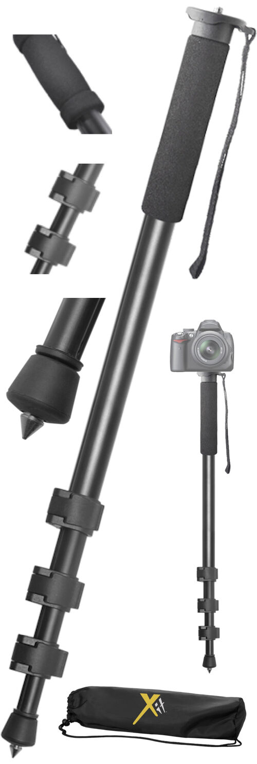 "72"" Lightweight Monopod For Canon Nikon Sony Camera/Camcorde"