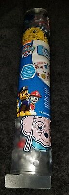 NEW NICKELODEON PAW PATROL SIGNATURE ALL OVER PAWS DECORATIVE SHOWER BATH MAT. (Shower Signature Mat)