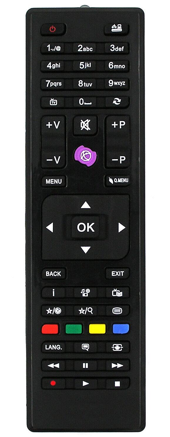 Ersatz Fernbedienung für Telefunken TV | XF32A200D | XF32A201D | XF32A201DW |