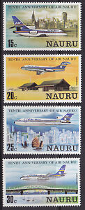 1980-Nauru-10th-Anniversary-Air-Nauru-MUH
