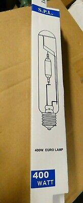 Lot of 5 S.P.L 400w Metal Halide Euro Lamp HPI/T 400w E40