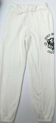 JUICY COUTURE White Jogging Pant w/Juicy Tiger Print  RRP £45  XS, Med, XL