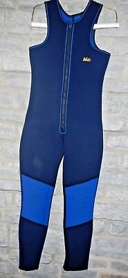 MEDIUM/LARGE REI FARMER JOHN SLEEVELESS FULL LENGTH WETSUIT NEOPRENE & NYLON