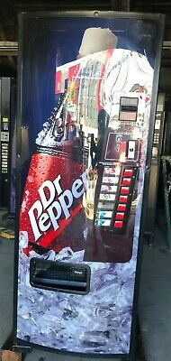 Dixie Narco 276 Dr Pepper Soda Water Energy Drink Can Bottle Vending Machine