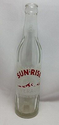 Coca Cola King Sun Rise Beverages Soda Bottle 10 Oz  Coke Bottling Co Vintage