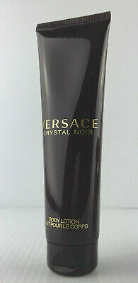 VERSACE CRYSTAL NOIR LUXURY BODY LOTION 5.0 OZ 150 ML NEW UNBOX
