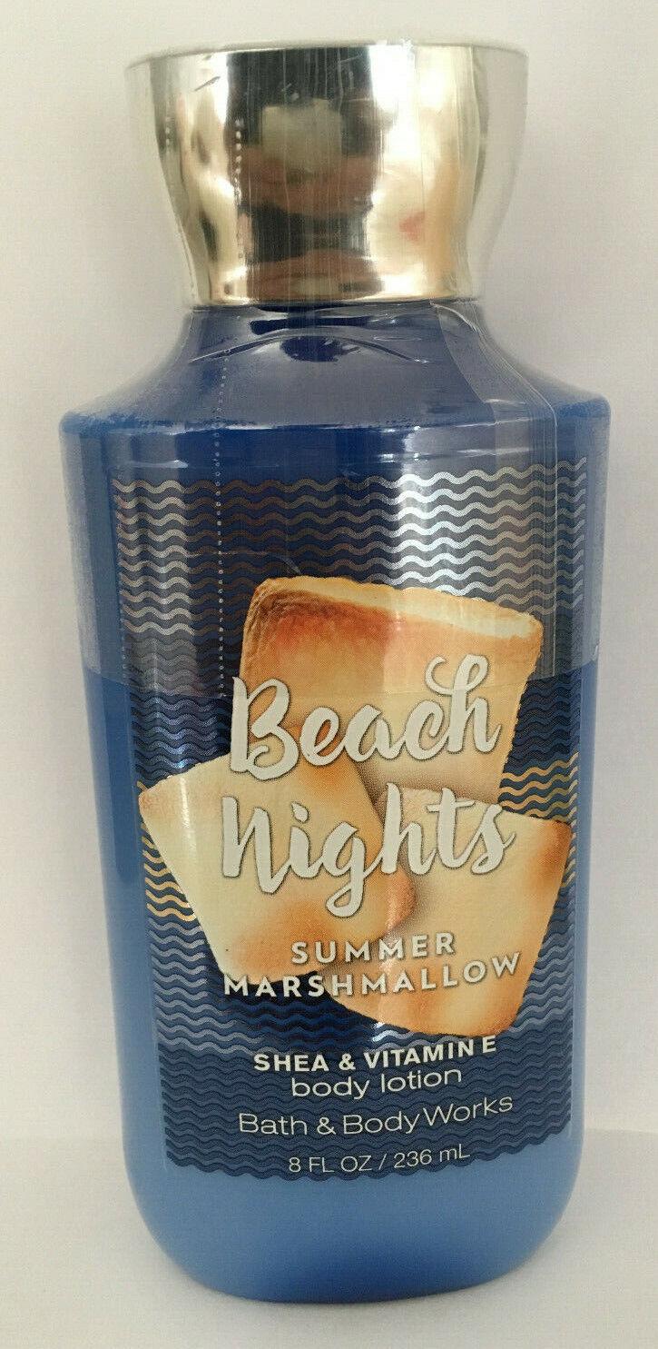 NEW 1 BATH & BODY WORKS BEACH NIGHTS HAND & BODY LOTION CREA