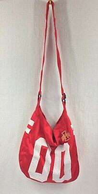 Ncaa Mesh Bag (Iowa State Cyclones NCAA Spirit Ready Women's Mesh Jersey Purse Bag )