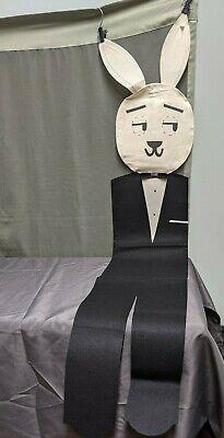 Vintage Playboy Club Kappa Rabbit Promotional Felt Pillow Case NYT Tie (NH)