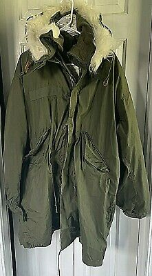 Original 1982 Dated M65 Fishtail Parka Medium w/Medium Liner and Hood  MINT M