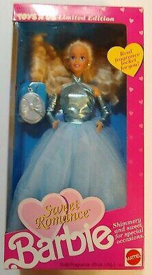 1991 SWEET ROMANCE BARBIE 2917 Toys R Us LE with Fragrance Locket NRFB Mattel