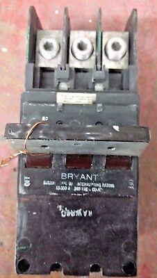 Bryant Bj3200 Circuit Breaker 200 Amp 240vac Cual