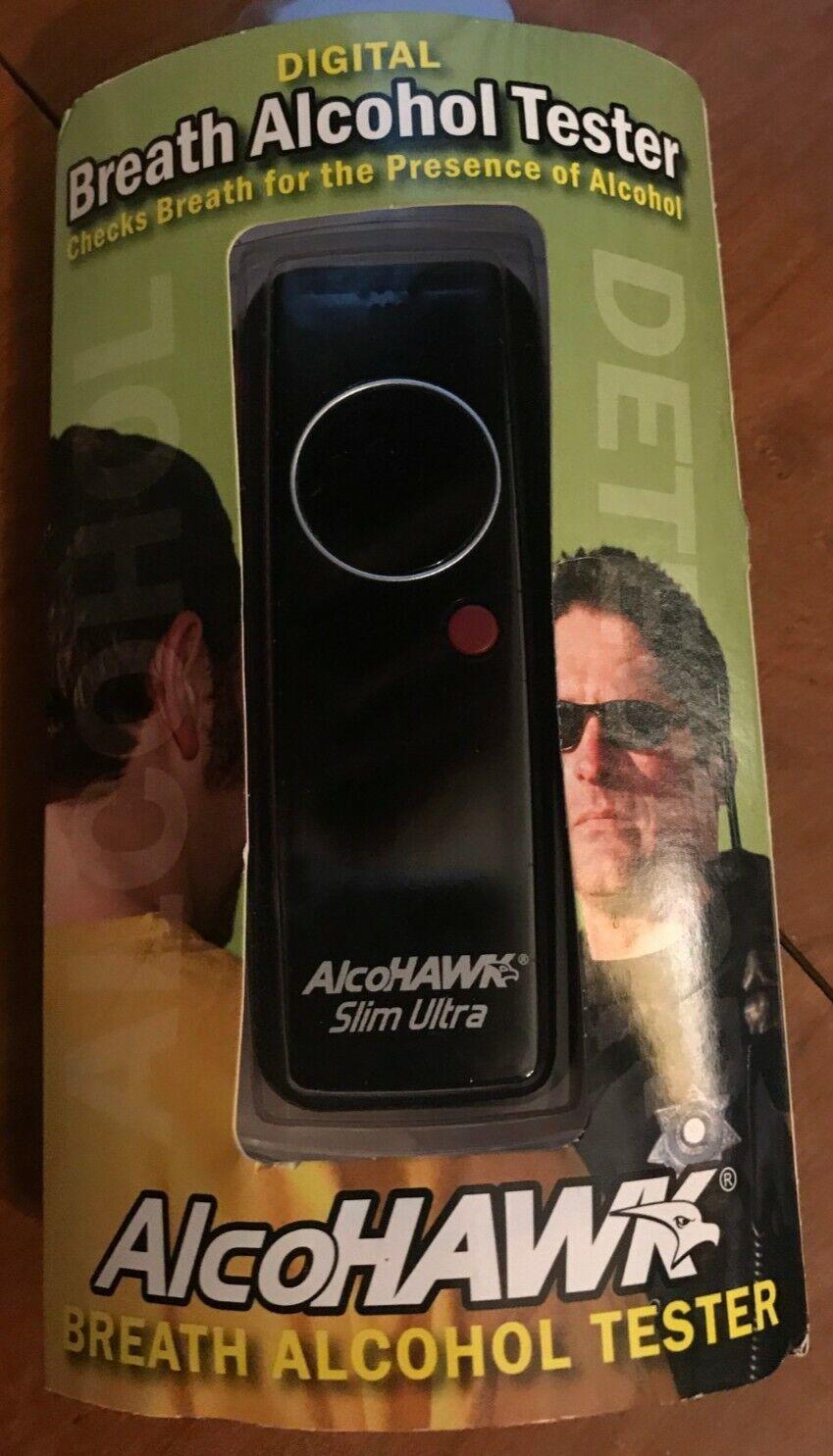 AlcoHAWK Digital Breath Alcohol Tester Breathalyzer NEW Ultr