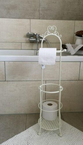 Toilettenpapierhalter WC Rollenhalter Toilettenpapierständer Shabby Chic 70cm