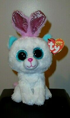 Beanie Boo Cats (Ty Beanie Boos - PURR-LY the Easter Cat (6 Inch)(2020 Claire's Exclusive))