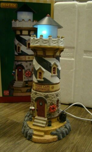 Lemax Christmas Village Windy Cape Lighthouse