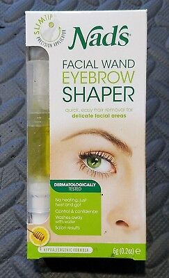Nad's Facial Wand Eyebrow Shaper Natural Hair Removal Kit Also Lip Area Too!