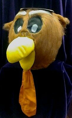 Mascot Costume Rental (Owl Mascot - Adult Mascot Costume - Retired Rental)