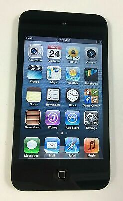 Apple iPod Touch 4th Generation Black 8GB - Very Nice Cond. 90 DAY WARRANTY