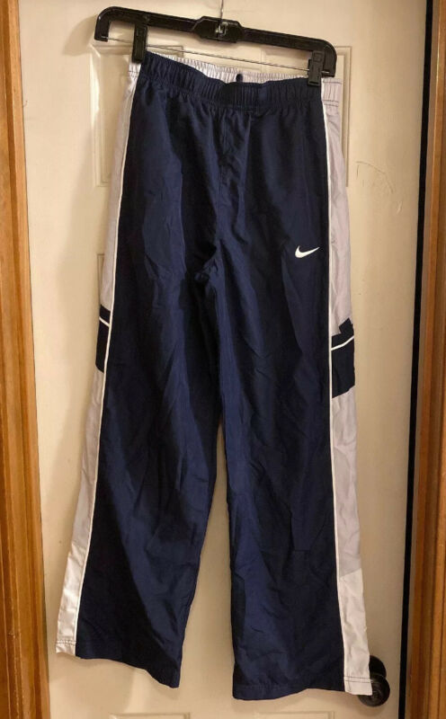Nike blue pants Youth L Athletic Warm Up track Running sport