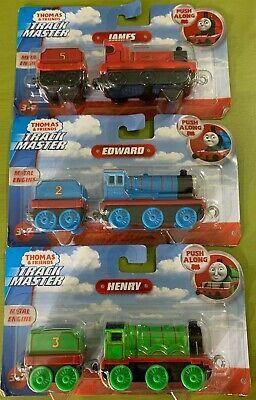Thomas & Friends Track Master Push Along Engine Lot Edward James Henry (3 Trains