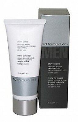 Md Formulations Men Shave Cream 2 5Oz 75Ml  Rich Lubricating Silicone Technology
