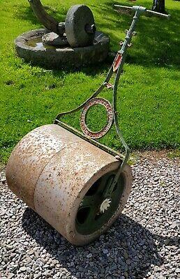 Antique Vintage Cast Iron Garden Roller A W Gamage Lawn Roller