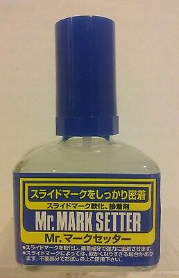Mr Hobby/Mr Mark Setter MS232, decal setting solution. 40ml.