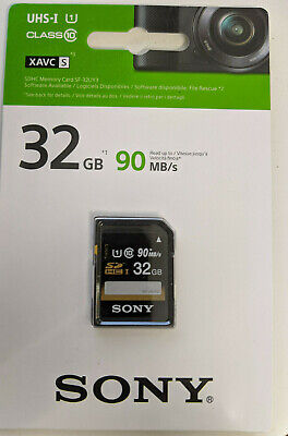 Sony SF-32UY3 - Class6 32GB SDHC Speicherkarte mit UHS Interface  online kaufen