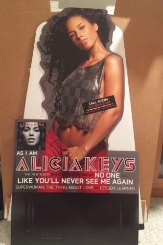 Alicia Keys As I Am Promo Floor Display Rare 2007 J Records