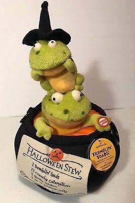 Hallmark TREMBLIN TOADS Halloween Sound & Motion Techno Sings Plush Animated NWT](Halloween Techno)