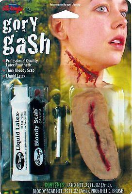 Gory Gash Victim Makeup FX Kit Halloween Costume Accessory NEW!](Victim Halloween Costume)