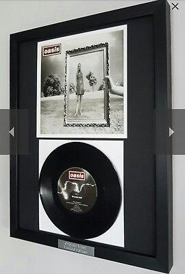Oasis Wonderwall-Original Vinyl single-Ltd Edition-Certificate-Noel Gallagher