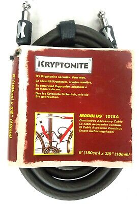 10mm X 3.5-Feet Kryptonite Modulus 1010S 2 Cable Pack