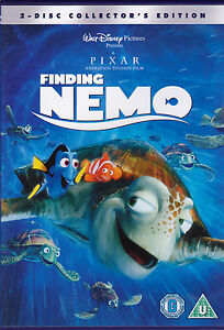 Brand New Walt Disney DVD - Finding Nemo 2 Disc Collector's Edition - R2 + 4