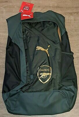 PUMA ARSENAL FOOTBALL CLUB PERFORMANCE BACKPACK RUCKSACK UNISEX NEW WITH TAGS