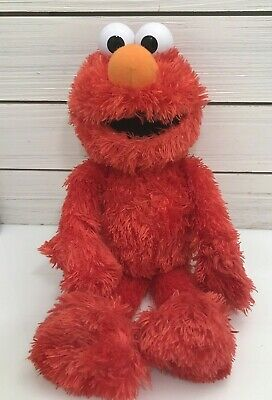 "Gund 2013 Sesame Street ELMO 14"" Plush Furry Red Soft Stuffed Toy"
