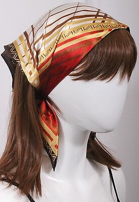 Lot Of 3 Paisley Print Women Elastic Back HEADBAND Hair Band Head Wrap Bandana -