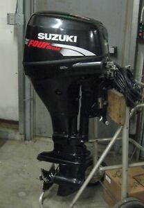 2008 25 hp Suzuki V-Twin Outboard Motor - 4 stroke ** New Price **