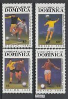 Xg-ak583 Dominica Ind - Football, 1986 Mexico World Cup Mnh Set -  - ebay.it