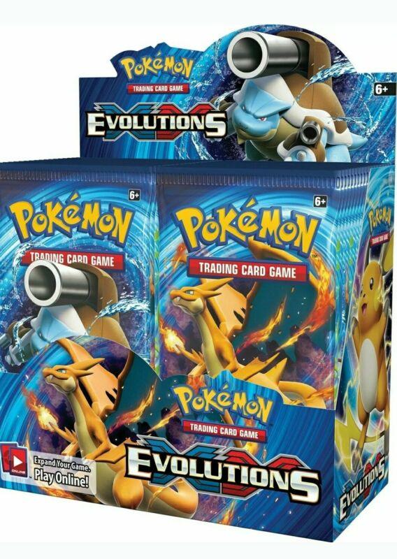 POKEMON TCG XY EVOLUTIONS BOOSTER SEALED BOX - ENGLISH -